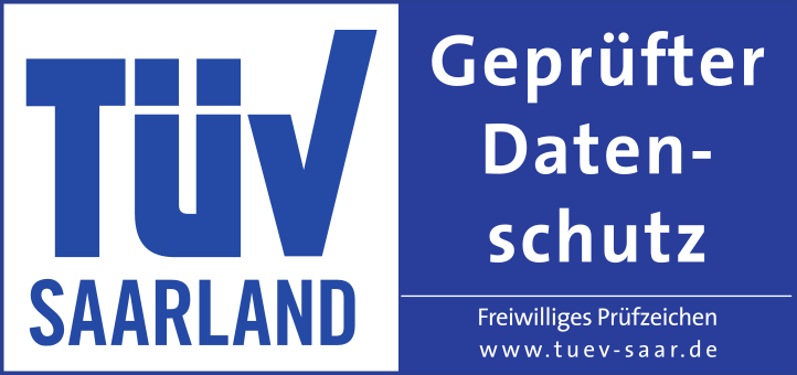 TÜV geprüfter Datenschutz von growney