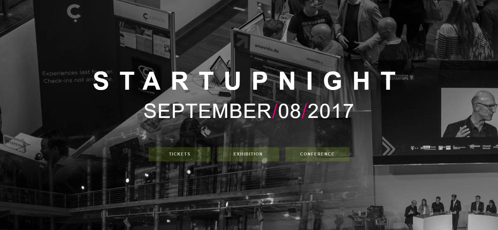 growney auf der Startupnight 2017